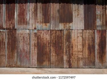 Rustic Corrugated Iron