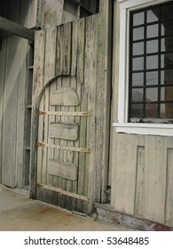 Rustic Door and Window