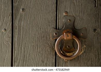 Rustic Doorknocker