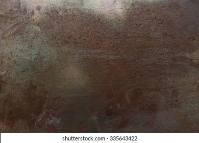 Rustic old metal background and rust texture