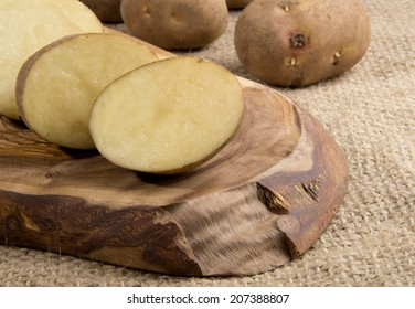 Rustic Organic Potatoes