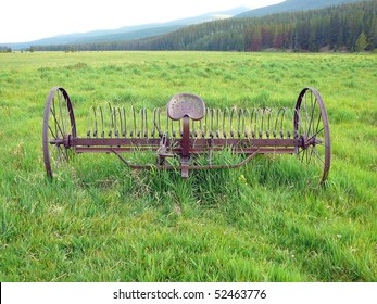 Rustic Plow, Rocky Mountain National Park