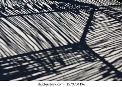 Rustic Pole shadow on Concrete