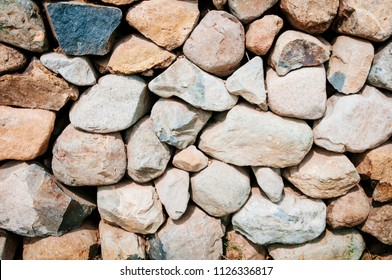 rustic stone wall background
