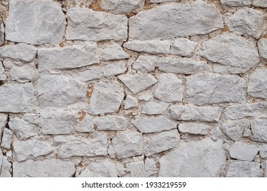 Rustic stone wall old texture