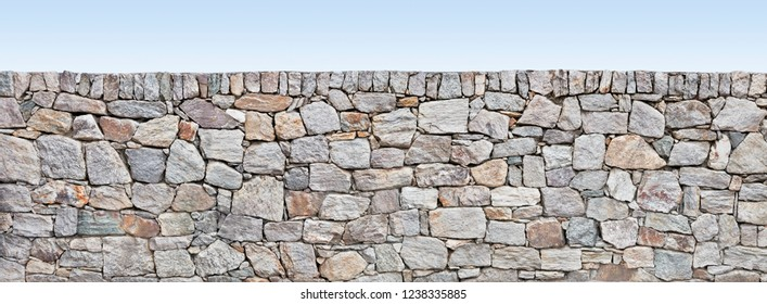 rustic stone wall in poster size