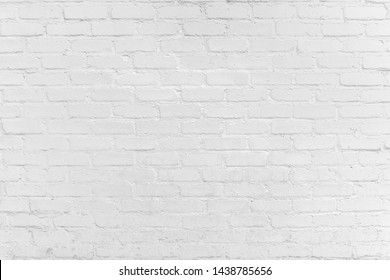 Rustic Texture. Retro. Old White brick wall texture for background. Vintage Structure