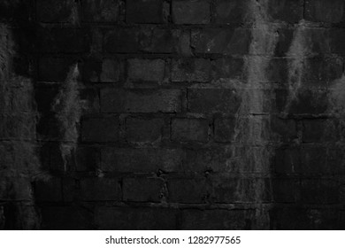 Rustic Wall in a Dark Room