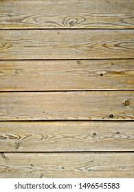 rustic wall of old wooden slats, orange color