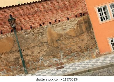 Rustic Wall - Prague, Czech Republic
