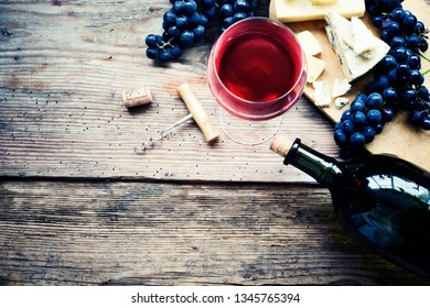 rustic wine background