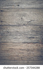 Rustic Wood Background with Instagram Style Retro Filter
