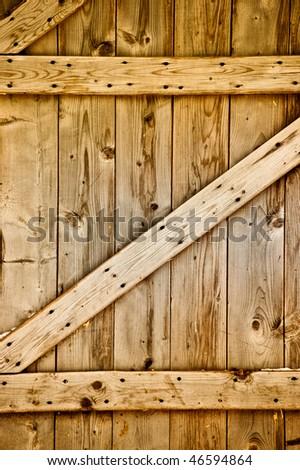 Rustic Wooden Barn Door Stock Photo Edit Now 46594864 Shutterstock