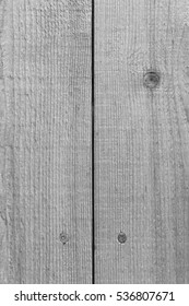 Rustic wooden planks wall or fence in black and white