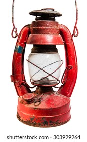 rusty ancient lamp