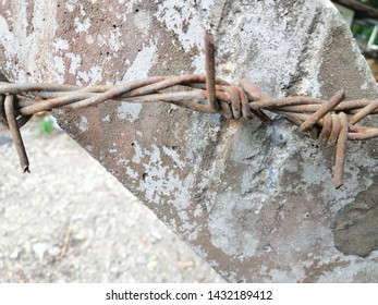 Concrete Barbed Posts Wire Images, Stock Photos & Vectors | Shutterstock