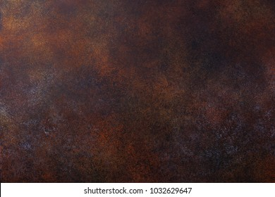 Rusty brown empty copy space background texture