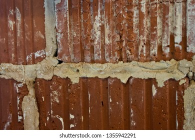 A Rusty Brown Wall