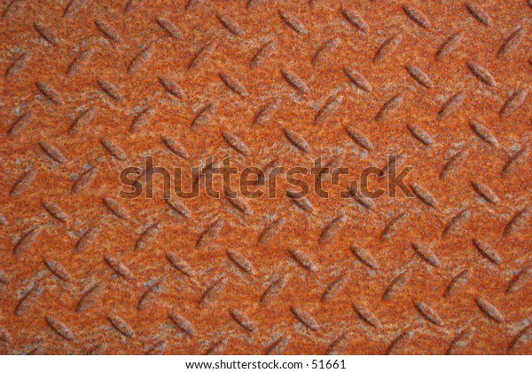 Rusty Deck Plate Background 2
