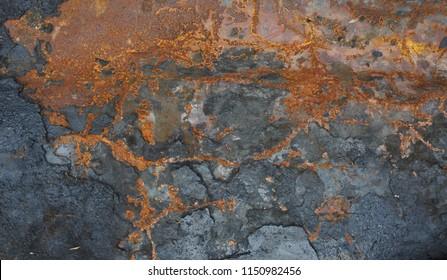 rusty grunge steel textured background
