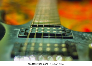 rusty Guitar with single coil pickups