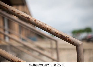 Rusty Hand Rail