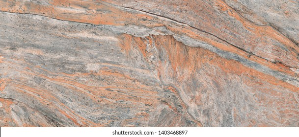 Rusty marble texture. Gray stone rusty background. Colorful granite stone background. Old Cracked Rusty Rough texture. Rock wall backdrop with rough brown texture.