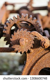 Rusty mechanics, Gotland Sweden.