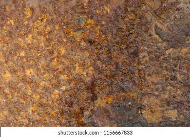 rusty metal sheet, texture