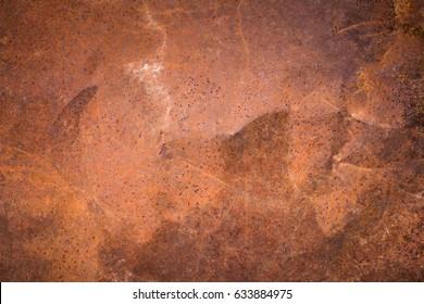 Rusty metal surface texture