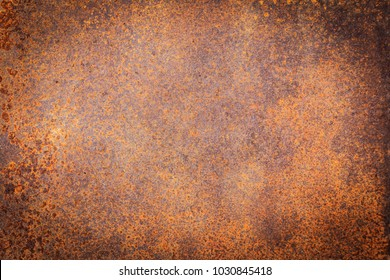 Rusty metal texture background for interior exterior decoration and industrial construction concept design.