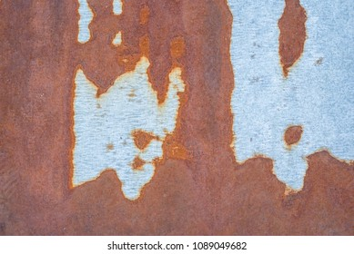 Rusty metal texture, old iron surface.