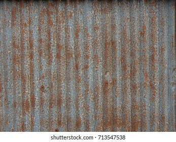 Rusty metal wall background.