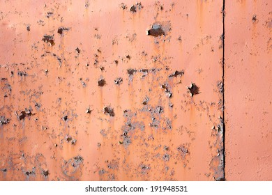 Rusty metalic iron painted background texture