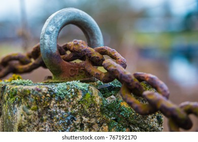 rusty old chain