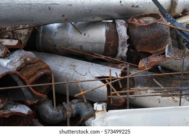 Rusty old pipes