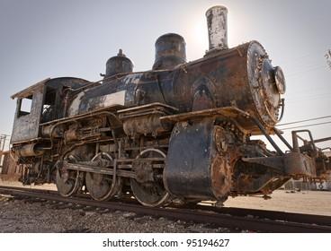 Rusty Old Steam Engine