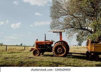Rusty old Tracktor