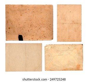 Rusty pieces of paper