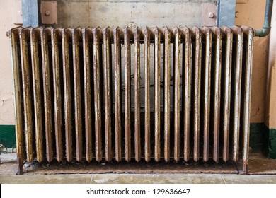 Rusty radiator