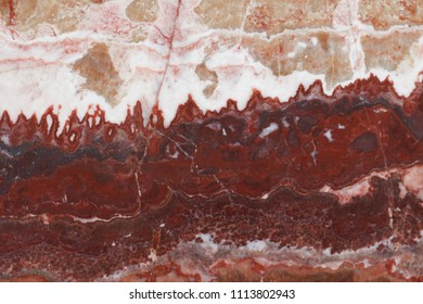 Rusty red marble stone pattern background surface