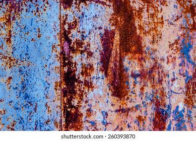 rusty sheet