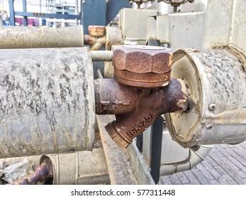 Rusty Steam trap