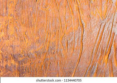 Rusty steel background (corten pattern)