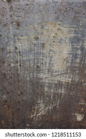 Rusty steel plate grungy background