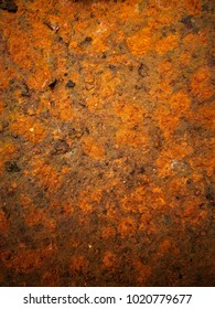 Rusty texture of very old grunge metal plate.