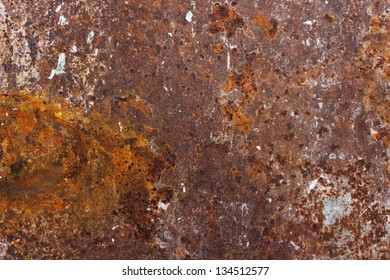 rusty and thorn paper background with texture