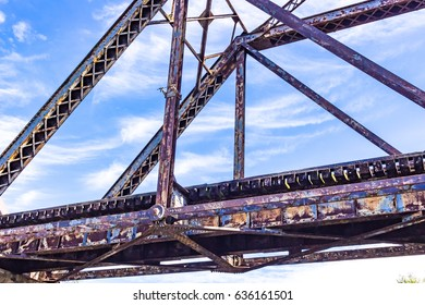 Rusty Train Bridge