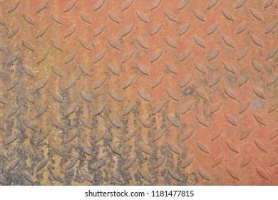 Rusty tread plate