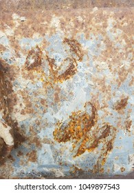 rusty weathered metal background texture